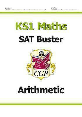 New KS1 Maths SAT Buster: Arithmetic (for the 2019 tests) by CGP Books (Paperbac