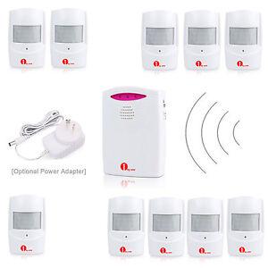 Security-Wireless-Driveway-Patrol-Alert-Alarm-System-Motion-Sensor-LED-amp-Speaker