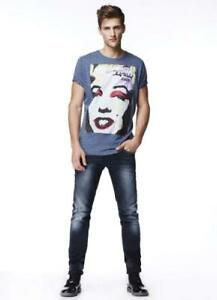 81c7f5be Image is loading PEPE-JEANS-KNIGHT-T-SHIRT-MARILYN-MONROE-MOD-