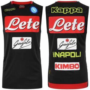 Kappa-T-shirt-sport-Active-Jersey-Man-ABRIZO-2-NAPOLI-Soccer-sport-CNA-Tank