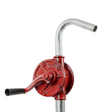 TERAPUMP - 55 Gallon Drum Barrel Tank Rotary Hand Pump for Diesel, Oil & Fuel
