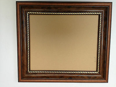 54mm MAHOGANY AND GOLD PICTURE/PHOTOGRAPH FRAMES - VARIOIUS S