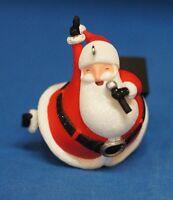 Santa Claus Is Coming To Town Christmas Ornament Hallmark Musical Keepsake 2010