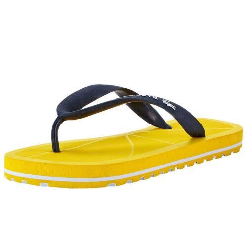 Lacoste Yellow Nosara Flipflops BNWT UK12 EU30.5 Infant Baby Boys Girls RRP £18