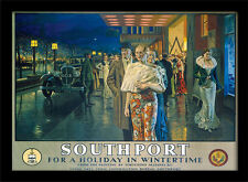 Billboard For a Holiday in Wintertime N /& OO Gauge LMS Southport