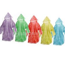 12Pcs Disposable Emergency Rain Coat Raincoat Poncho for Camping Hiking