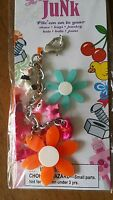 Zipper Pulls Backpacks Jacket Purse Jewelry Flowers Dog Cat Ribbons Multi-color