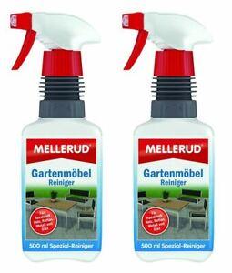 €17,99/L Spar Set MELLERUD Gartenmöbel Reiniger 1 L (2x0,5) Holz Möbel Stuhl