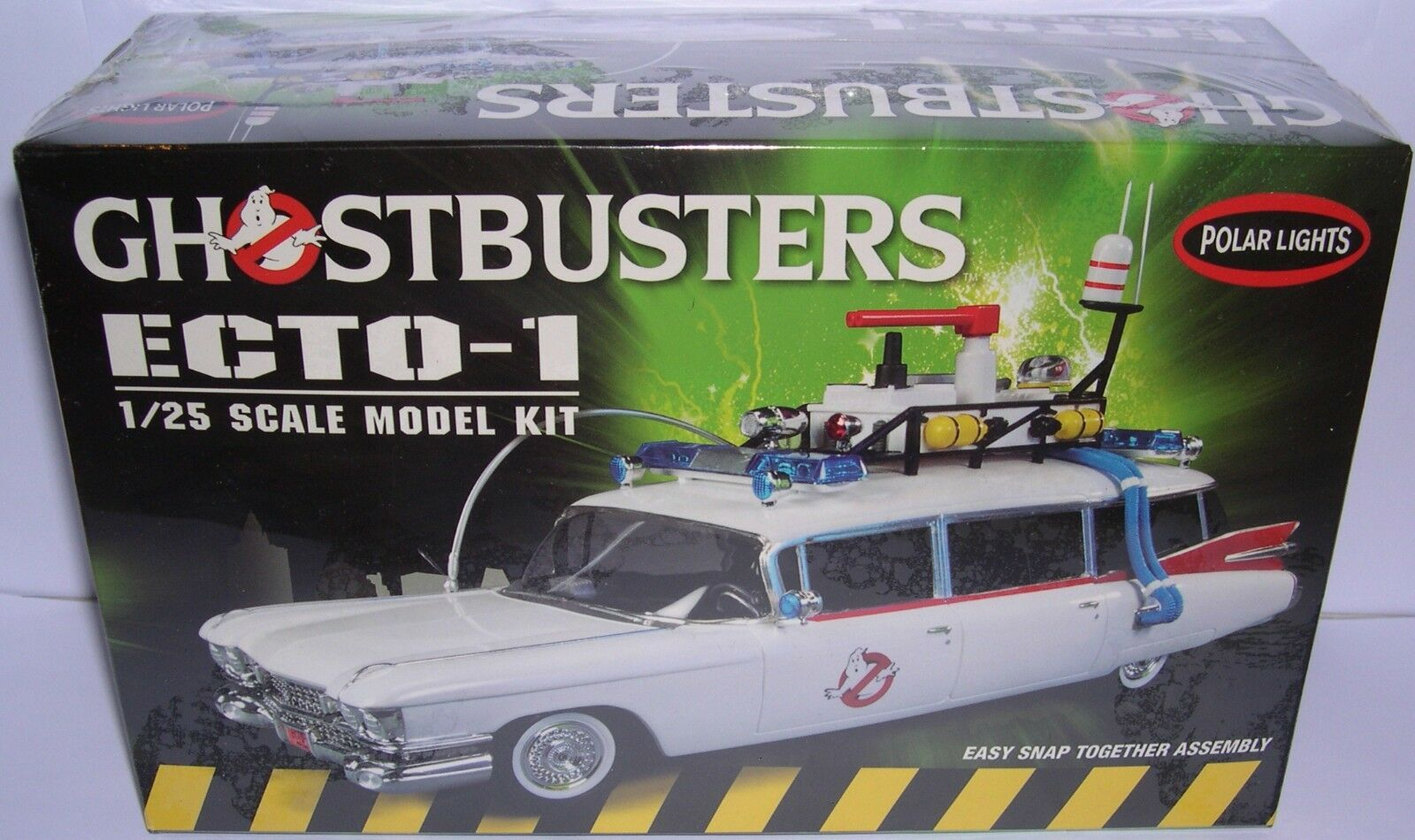 POLAR LUMIÈRES POL914 12 KIT 1 25 ILLAC CHOSBUSTERS ECTO-1 GHOSTBUSTERS