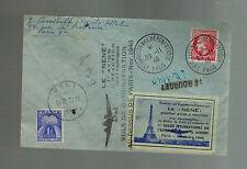 1946 Paris France Cover  First Post WW 2 Military Air Show Aviation La Nene