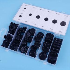 170pcs Grommets Assortment Electrical Wire Gasket for Car Firewall Hole Plug Set