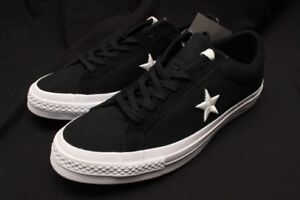 f4783054749873 Image is loading CONVERSE-ONE-STAR-OX-BLACK-WHITE-160600C