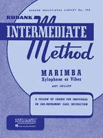Rubank Intermediate Method Marimba Xylophone Or Vibes Intermediate 004470270