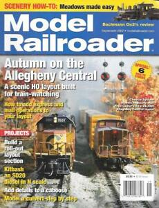Model-Railroader-Sept-2007-HO-N-Scale-Allegheny-Mail-Operations-SD20-Diesel-Fall