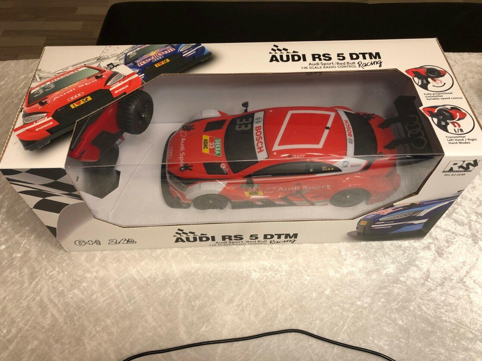 Audi RS 5 DTM Racing 1 16 ferngesteuert 2,4GHz in rot Neu & OVP