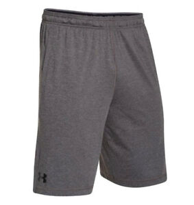 f2ed55383 Details about Under Armour UA Raid HeatGear® 10-inch Men's Carbon Heather Athletic  Gym Shorts