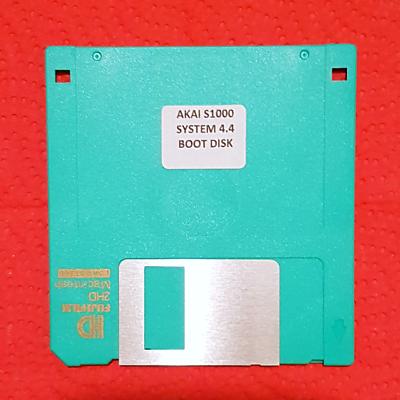 AKAI S1000 SAMPLER UPGRADE Operating system Latest V4.4