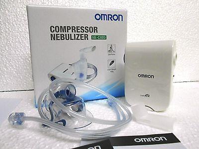 Omron NE-C803 Compressor Nebuliser Adult + Kid Respiratory Medicine Inhaler New