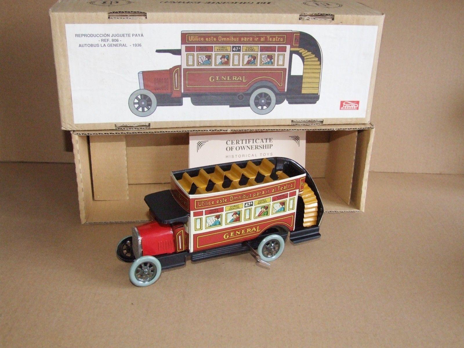 PAYA 806 Autobus La General 1936 Open Bus Omnibus