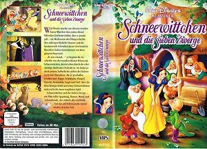 Vhs Schneewittchen Und Die Sieben Zwerge Walt Disney Klassiker