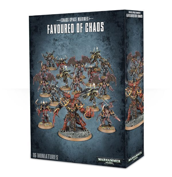 Favoured of Chaos 43-26 - Chaos Space Marines - Warhammer 40,000