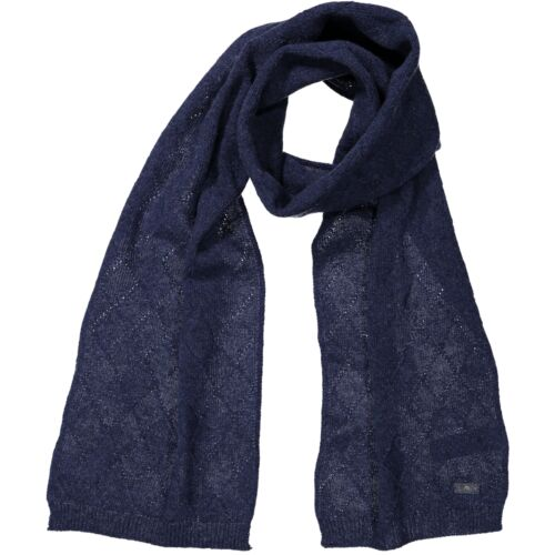 CMP Scarf Woman's Knitted Scarf Mis. 180 x 28 Dark Blue Plain
