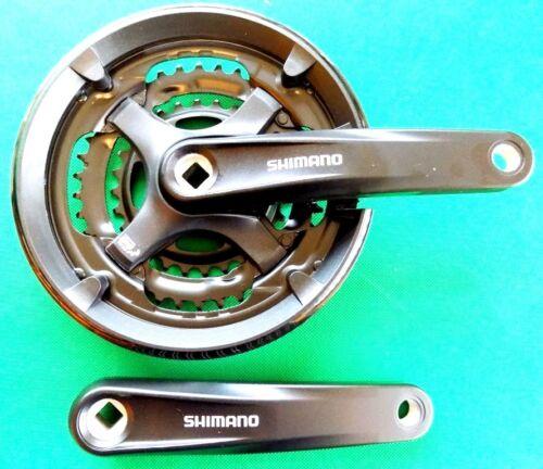 Shimano Triple Pédalier Chainwheel 28//38//48 Alliage 170 mm manivelles FCM131CTY701 L