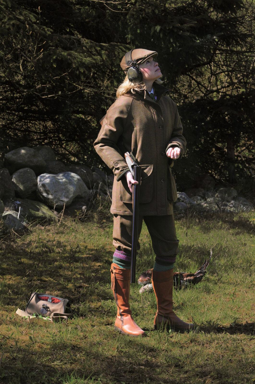 Capa señoras Laksen Tyne Tweed-todos Los Tamaños-Nuevo
