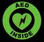 thumbnail 8 - AED Inside Circle Emblem Vinyl Decal Window Sticker Car