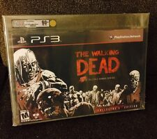 The Walking Dead COLLECTORS EDITION VGA 90+ MINT! Sony PlayStation 3 GOTY! PS3