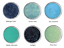 Sparkly-Black-Eye-Shadow-Teal-Blue-Halloween-Eyeshadow-Makeup-Mermaid-Vegan-Set thumbnail 1