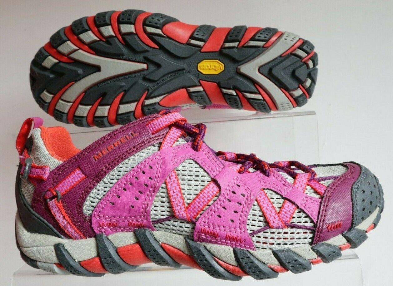 MERRELL  LADIES WATERPRO MAIPO VIBRAM PURPLE TRAIL RUNNING TRAINER SHOES  no hesitation!buy now!