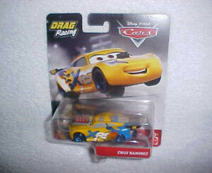 HW-DISNEY-PIXAR-CARS-DRAG-RACING-034-CRUZ-RAMIREZ-034-w-MOVING-PISTONS-VHTF-NEW-CAR