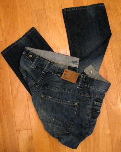 X uomo G tonda star Taglia gamba afflitto 3301 Jeans Jeans effetto 31 32 a da rOTIOgSq