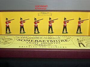 Britains 8804 Prince Albert Somerset Léger Infantry Jouet En Métal Soldat Figure Set 50241880428