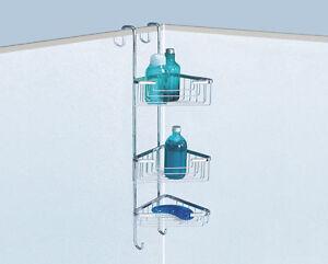 Portasapone porta oggetti angolare appendibile vasca box doccia