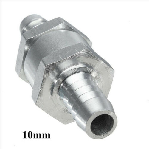 6~12mm Aluminium Alloy Check Valve One Way Non-Return Fuel Petrol Diesel Oil