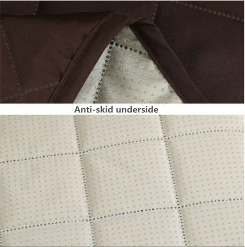 100/% Waterproof Loveseat Cover for Leather Couch Quilted Furniture Protector