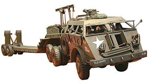 Tamiya 1  35 EE.UU.40ton Transportador Tanque Drag Drago Drago järnväg 65533;65533; n Wagon modellllerler Kit Nuevo De