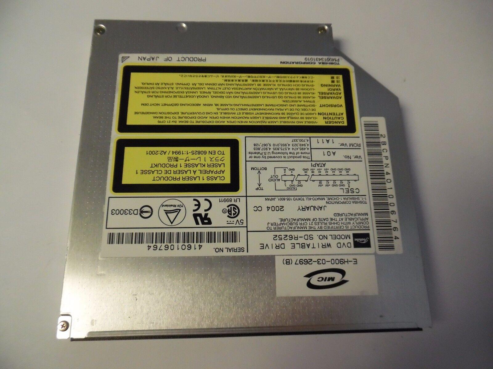 TOSHIBA ODD DVD SD R6252 DRIVER PC