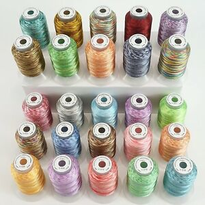 Variegated-Polyester-Embroidery-Machine-Thread-Kit-500M-Each-Spool-25-Colors