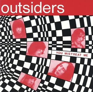 THE-OUTSIDERS-You-Mistreat-Me-vinyl-7-034-EP-Dutch-beat-mod-garage-freakbeat