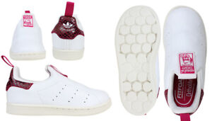 Details about ADIDAS GIRLS BOYS INFANT TODDLERS STAN SMITH 360 Trainers S32129