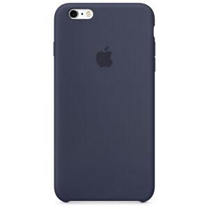 Apple MKY22ZM/A Custodia Cover Silicone per Iphone 6s A1633 A1688 Blu Notte