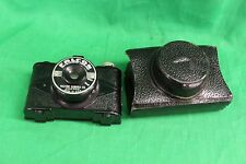VINTAGE PHOTOGRAPHY FALCON MINICAM JR. CAMERA WITH CARRYING CASE