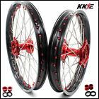 KKE Cast Wheels Rims for Honda CRF250R - Black/Red (N03CA3130)