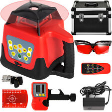 360 Rotary Laser Leveling Device 500m Range Red Beam Self Leveling Waterproof