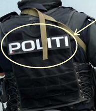 FANCY DRESS PARTY PROP: NORWEGIAN POLICE POLITI-OG LENSMANNSETATEN ?e?©®???PATCH