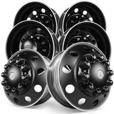 22 5 Alcoa Dura Black Aluminum 10x285mm Tandem Axle Kit Ebay