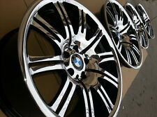 "BMW 19"" Genuine E46 M3 M-Double OEM Factory Wheels E36 E90 F30 Z3 Z4 CSI GT BBS"